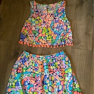 Lilly skirt and tank set